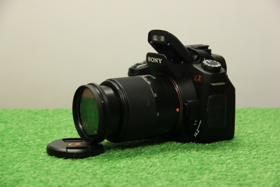 Sony Alpha dslr-A350 Kit