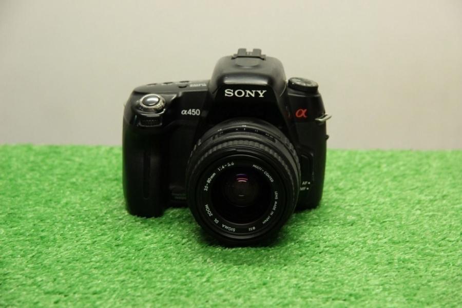 Sony Аlрhа A450 Kit 35-80mm