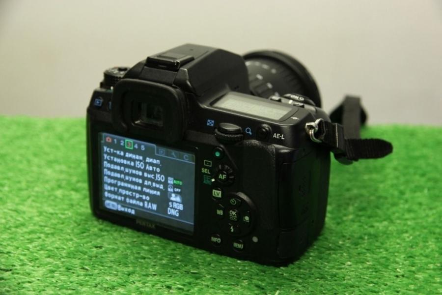 Pentax K-5 24-105mm