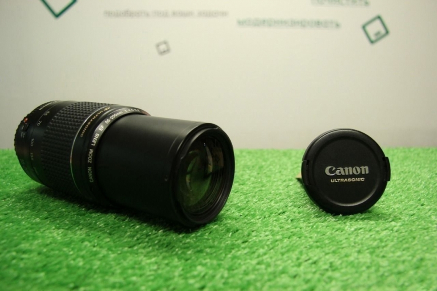 Canon Zoom Lens EF 55-200
