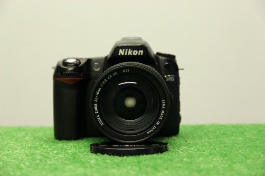 Nikon D80 +18-200 Sigma