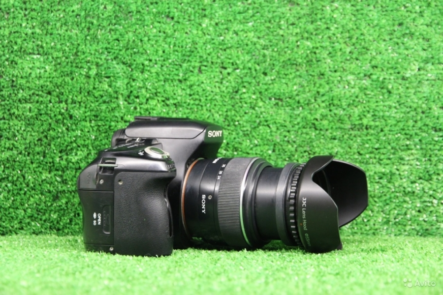 Sony Alpha DSLR-A500 Kit