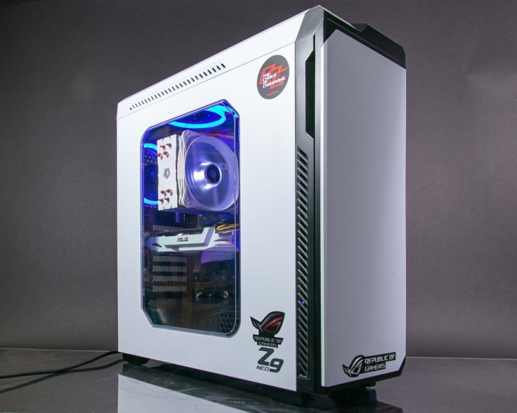 Игровой Пк на Core i5-7400/GTX 1070/8Gb/SSD+HDD