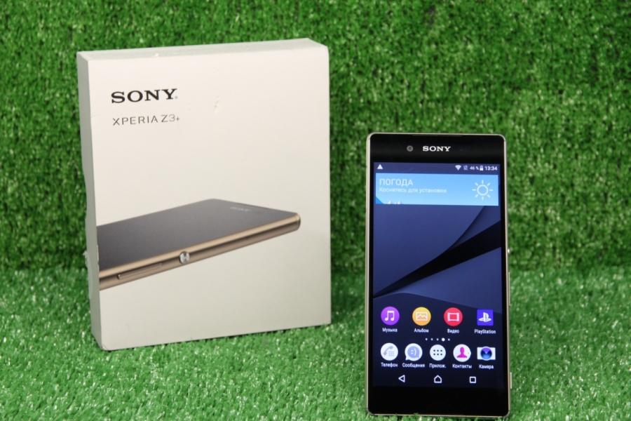 Новый Sony Xperia Z3+ Aqua