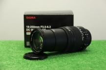 Sigma AF 18-250mm