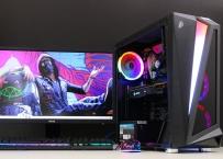 Игровой ПК на Core i3/4Gb/RX/580